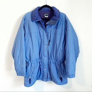 Patagonia Insulated Puffer Lined Cinched Ski Coat